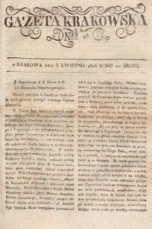 Gazeta Krakowska. 1826, nr28