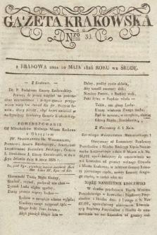 Gazeta Krakowska. 1826, nr38