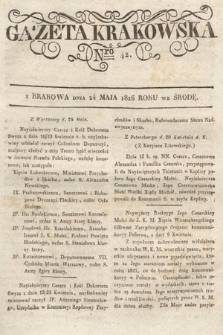 Gazeta Krakowska. 1826, nr42