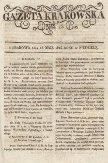 Gazeta Krakowska. 1826, nr43