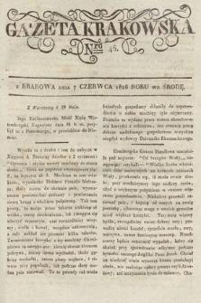 Gazeta Krakowska. 1826, nr46
