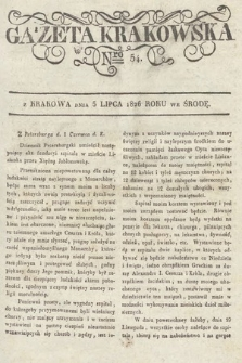 Gazeta Krakowska. 1826, nr54