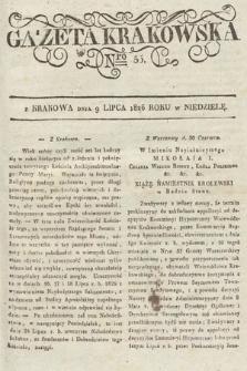 Gazeta Krakowska. 1826, nr55