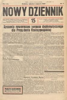 Nowy Dziennik. 1937, nr2