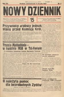 Nowy Dziennik. 1937, nr4