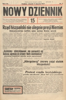 Nowy Dziennik. 1937, nr5