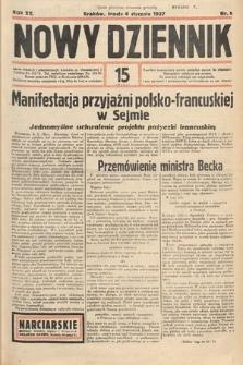 Nowy Dziennik. 1937, nr6