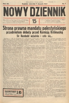 Nowy Dziennik. 1937, nr7