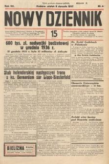Nowy Dziennik. 1937, nr8