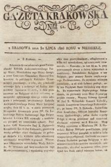 Gazeta Krakowska. 1826, nr61