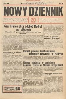 Nowy Dziennik. 1937, nr10