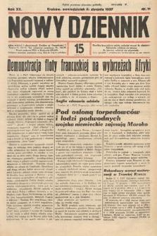 Nowy Dziennik. 1937, nr11