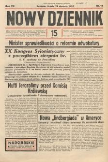 Nowy Dziennik. 1937, nr13