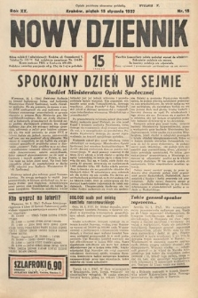 Nowy Dziennik. 1937, nr15