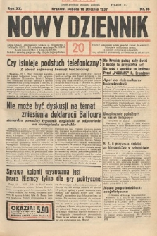 Nowy Dziennik. 1937, nr16