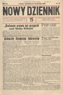 Nowy Dziennik. 1937, nr18