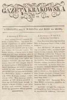Gazeta Krakowska. 1826, nr72