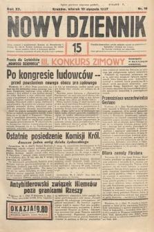Nowy Dziennik. 1937, nr19