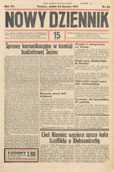 Nowy Dziennik. 1937, nr22