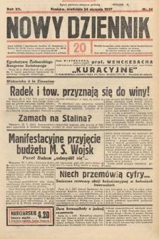 Nowy Dziennik. 1937, nr24