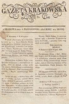 Gazeta Krakowska. 1826, nr80