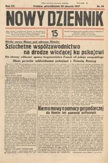 Nowy Dziennik. 1937, nr25