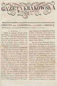 Gazeta Krakowska. 1826, nr81