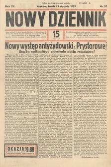 Nowy Dziennik. 1937, nr27