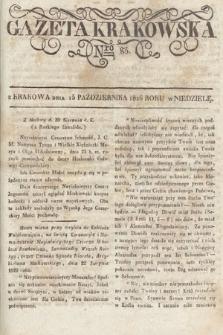 Gazeta Krakowska. 1826, nr83