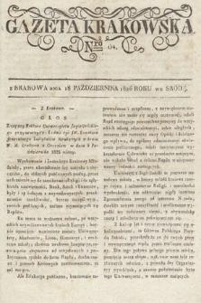 Gazeta Krakowska. 1826, nr84