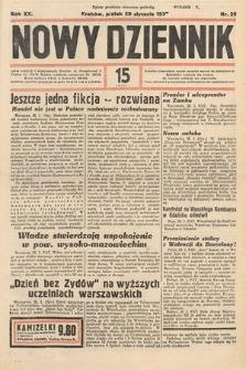 Nowy Dziennik. 1937, nr29