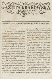 Gazeta Krakowska. 1826, nr87