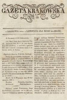 Gazeta Krakowska. 1826, nr88