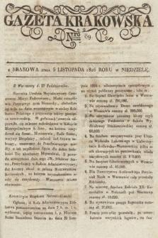 Gazeta Krakowska. 1826, nr89