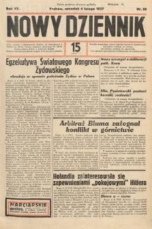 Nowy Dziennik. 1937, nr35