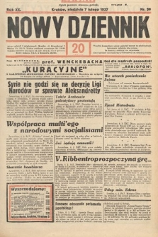 Nowy Dziennik. 1937, nr38