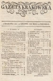 Gazeta Krakowska. 1826, nr99