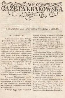 Gazeta Krakowska. 1826, nr100