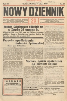 Nowy Dziennik. 1937, nr45