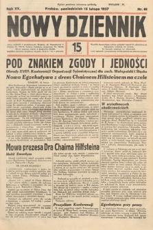 Nowy Dziennik. 1937, nr46