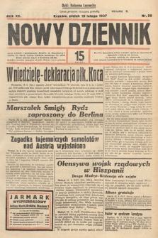 Nowy Dziennik. 1937, nr50