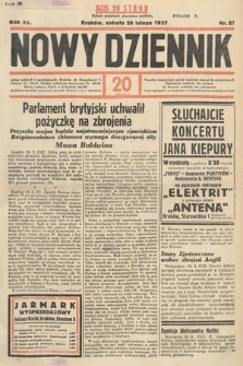 Nowy Dziennik. 1937, nr51