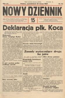 Nowy Dziennik. 1937, nr53