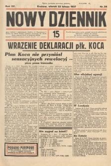 Nowy Dziennik. 1937, nr54