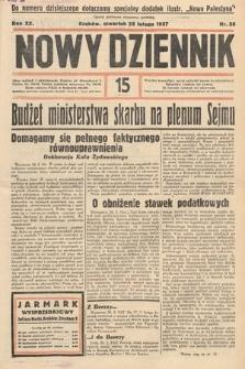 Nowy Dziennik. 1937, nr56