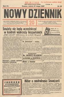 Nowy Dziennik. 1937, nr58