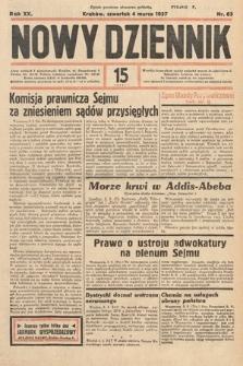 Nowy Dziennik. 1937, nr63