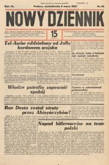 Nowy Dziennik. 1937, nr67