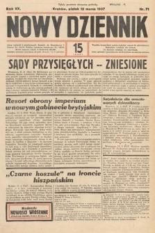 Nowy Dziennik. 1937, nr71