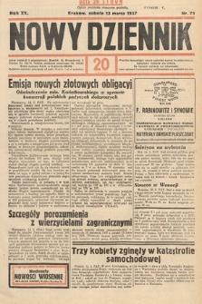 Nowy Dziennik. 1937, nr72